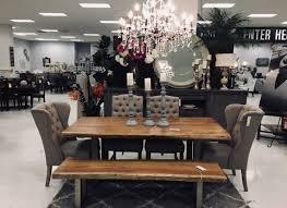 living edge lighting. Solid Hardwood Live Edge Dining Table - U Tube Metal Base Showhome Furniture Living Lighting
