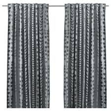 ikea ni block out curtains 1 pair the curtains prevent most light from entering and provide privacy by blocking the view into the room from