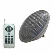 Do You Have To Drain Pool To Change Light Bulb Us 35 02 Led Pool Projector 54w Rgb Spotlight Colorful Synchronous Ip68 Underwater Light Ac12v Par56 Pool To Replace Halogen Bulb In Led Underwater