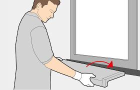 Fensterbank Einbauen Innen Außen Montageanleitung