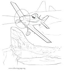 Planes Coloring Pages Dusty Dusty Coloring Page Elegant Planes