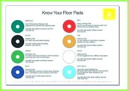 3m Floor Pad Chart Foam Buffing Pad Color Chart Best Picture Of Chart