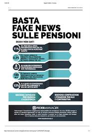 Basta Fake News sulle Pensioni - Landing page - Dirigenti Senior