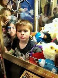Kid In Vending Machine Adorable KID In CRANE MACHINE Picture EBaum's World