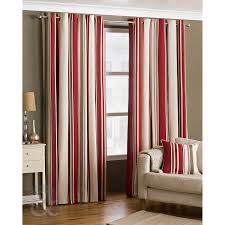 just contempo curtain pair 66 x 90 bedroom ready made striped eyelet curtains fully lined cream grey black curtain pair black grey cream