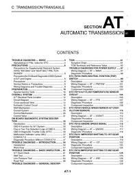 2004 nissan xterra automatic transmission section at pdf 2004 nissan xterra automatic transmission section at 352 pages