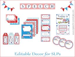 Printable Room Decor Speech Room Decor On A Budget Week 2 Speech Room Style