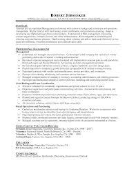 Promotional Resume Template