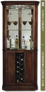 traditionally styled Wine Bar cabinet bines plentiful storage