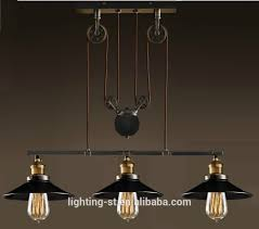 artistic pendant light with 3 lights in pulley block design morden simple home ceiling light fixture stb 303 modern ceiling lamp antique
