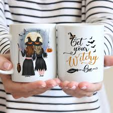 20% off with code fourthjuly21. Halloween Custom Coffee Mugs Get Your Witchy On