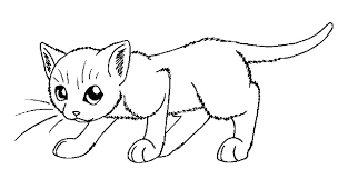 Kitty Cat Coloring Pages Printable Fjushis Info