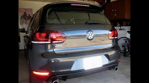 Mk6 Gti Rear Fog Light 2013 Vw Gti Ep 79 Oem Led Tails Installation And Coding