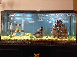 Funny Fish Tank Decorations Super Mario Fish Aquarium Duck Duck Gray Duck