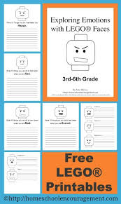 Free Exploring Emotions With Lego Faces 3rd 6th Grade Set