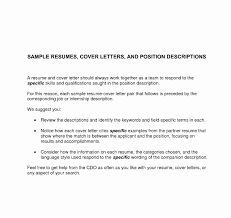 Coveretteretters For Resumes Samples In General Resume Examples