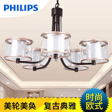 philips led chandelier modern minimalist living room bedroom study lamp restaurant lights chandelier qpg302 yu dai children in on alibaba