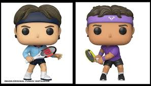 Rafael Nadal and Roger Federer join Maria Sharapova in iconic Funko Pop  figurines