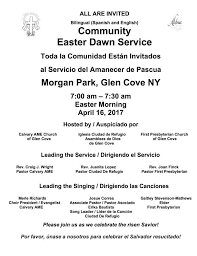 Bilingual Easter Dawn Service | Oyster Bay, NY Patch
