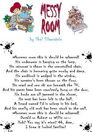 what is the meaning of messy room by shel silverstein enotes what is the meaning of messy room by shel silverstein