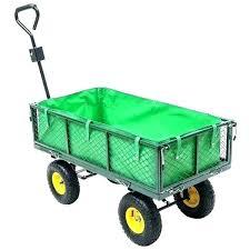garden cart gorilla dump cart yellow garden wagon yard cart carts and wagons utility outdoor