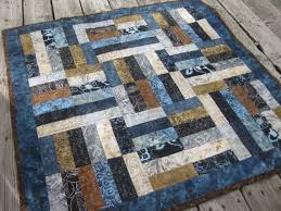 beautiful modern quilts - Google Search | Quilt Patterns ... & Batik lap quilt baby quilt blue and brown by OliveStreetStudio- idea for  blue and brown quilt Adamdwight.com
