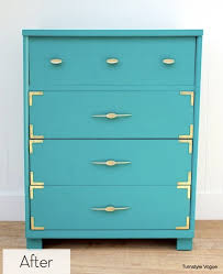 colorful painted furniture. Unique Colorful Before And After Colorful Painted Dresser Set With Furniture