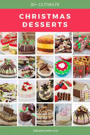 Many homemade christmas desserts are created with love and gifted to others. The Most Popular Christmas Dessert Recipes Bake Play Smile