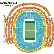 Breakdown Of The Lambeau Field Seating Chart Green Bay Packers