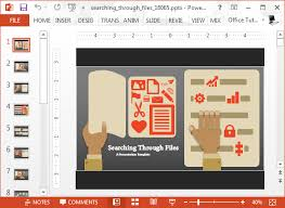 Animated Research Infographic Powerpoint Template
