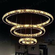 led large crystal chandelier ceiling pendant lighting remote control decoration singapore
