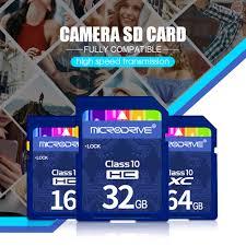 Thẻ Nhớ Sd 8gb 16gb 32gb 64gb 128gb Cho Máy Ảnh Canon Nikon Slr, Giá tháng  4/2021