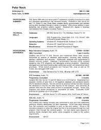 Example Server Resume Delectable Resume For A Server Hcsclubtk