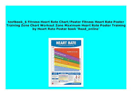 Pdf Fitness Heart Rate Chart Poster Fitness Heart Rate