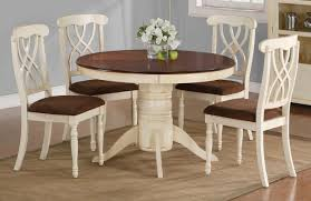 White Round Kitchen Table Small Kitchen Table Wooden Kitchen Table With White Legs With