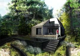 best house plans for homes built into a hill ideas
