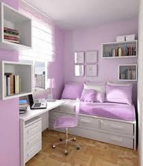 bedroom furniture ideas for teenagers. Bedroom:Wall Rack Glass Window White Desk Purple Pillows Modern Bed Table Lamp Laminate Flooring Bedroom Furniture Ideas For Teenagers A