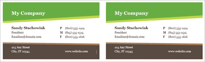 Free Business Card Template For Word How To Make Free Business Cards In Microsoft Word With Templates