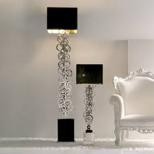 contemporary italian lighting. Large High End Contemporary Italian Silver Floor Lamp Lighting