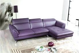 purple leather sofa living room