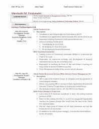 School Resume Template Best Of 20 Resume Template High School