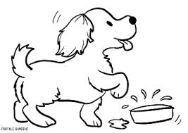 Disegni Di Cani Da Colorare 2 Lavoretti Disegni Di Cane Colori