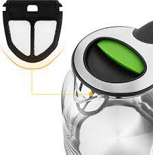 <b>Чайник электрический Kitfort KT-654-2</b>, зелёный купить в ...