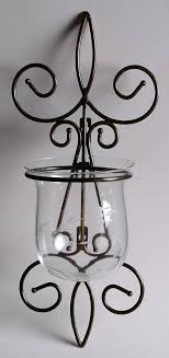 heritage metal wall sconce with glass