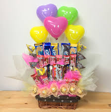 cheerfull smiles candy bouquet cb1