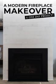painting a marble fireplace surround gives you practically instant gratification and update that is so simple