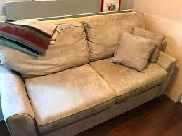faux suede sofa bed suede sofa sofa