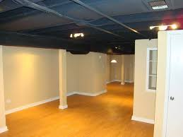 unfinished basement lighting ideas. Exposed Basement Ceiling Lighting Ideas Unfinished