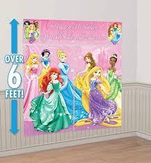 scene setter disney princess happy birthday birthday wall decoration photo shoot disney