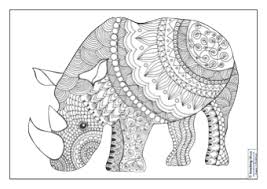 If your arty crafty kids have an old painting or patterned/coloured. Mindfulness Colouring Images Animals Teaching Ideas